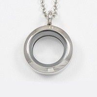 Mini silver locket $22.00