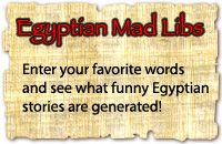 Lots of cool information and activities for kids learning about ancient Egypt