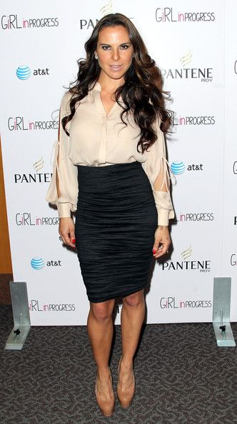 Kate Del Castillo Pencil Skirt - Kate Del Castillo Looks - StyleBistro