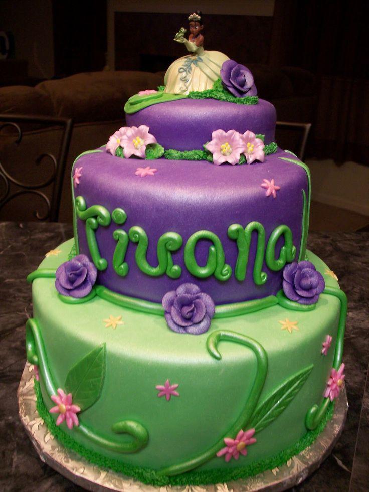 MoniCakes: Princess and the Frog / Princess Tiana Cake