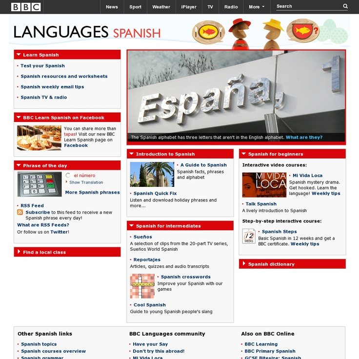 BBC Languages Spanish | Free Language