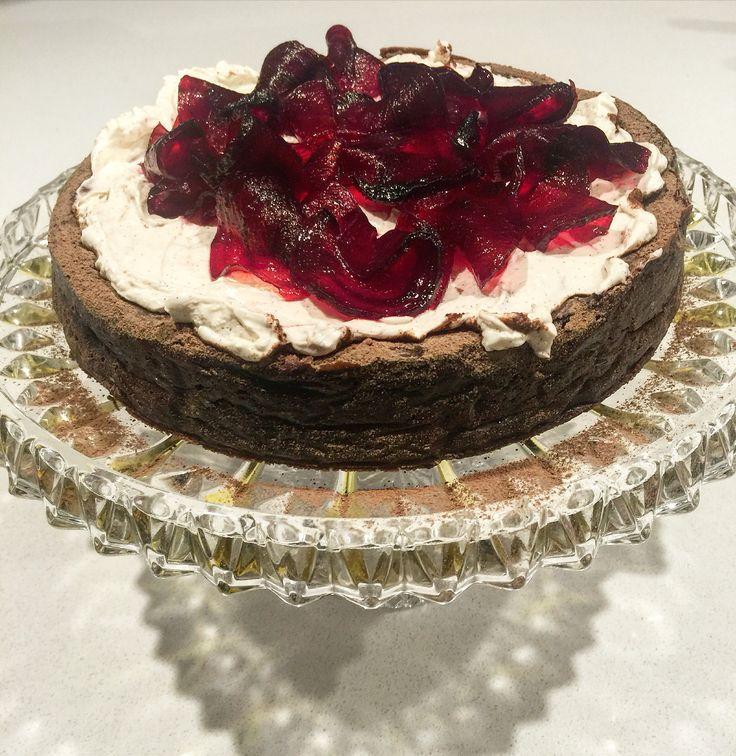 Chocolate Beetroot Cake - Dad's Birthday - May 2016