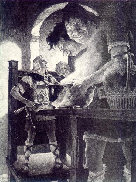 N. C. Wyeth: Jack the Giant Killer (Jack, o matador de gigantes) - 1939
