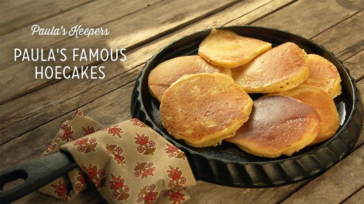 Check out what I found on the Paula Deen Network! Paula's Famous Hoecakes http://www.pauladeen.com/paulas-famous-hoecakes