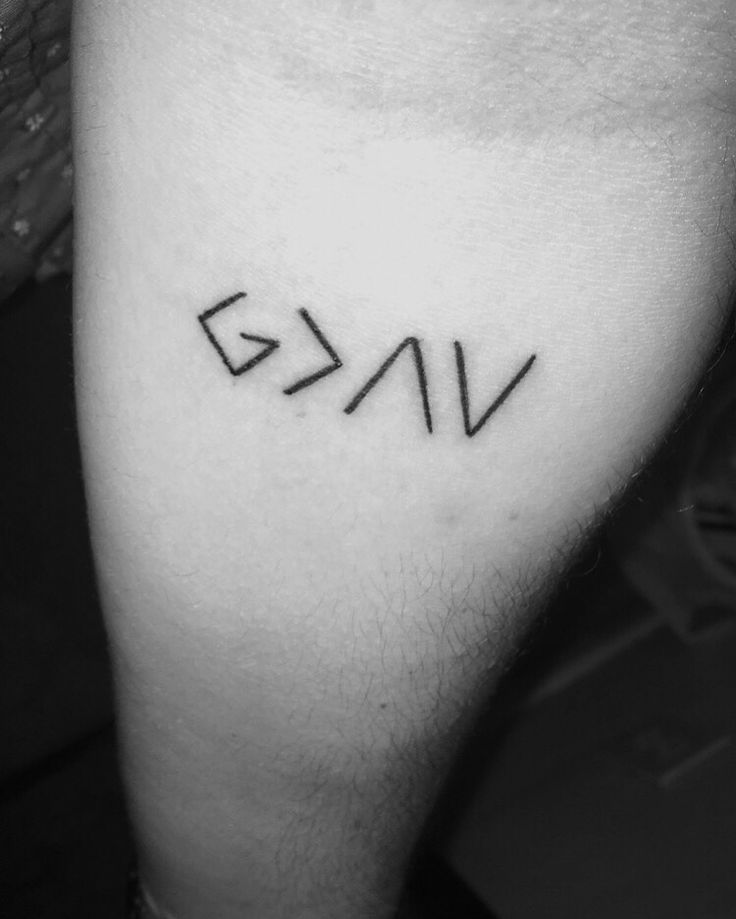 """God is greater than my highs and lows"""