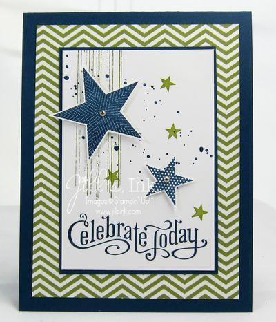 Simply Stars Birthday Card - Jills, Ink.