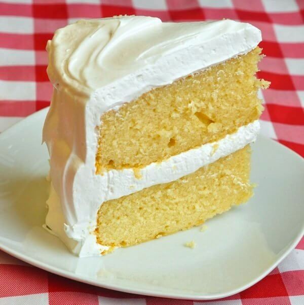 All bakers search for The Best Vanilla Cake recipe. After 30 years, I developed my own moist, buttery, perfect vanilla cake; with Marshmallow Frosting too.