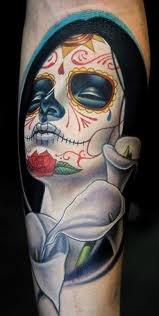 Beautiful: Skull Tattoo, Tattoos, Sugar Skull, Sugar Kull, Of The, Tattoo'S, Day Of The Dead, Dead, Day