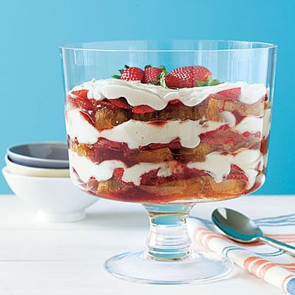Strawberry Shortcake Trifle by My Recipes