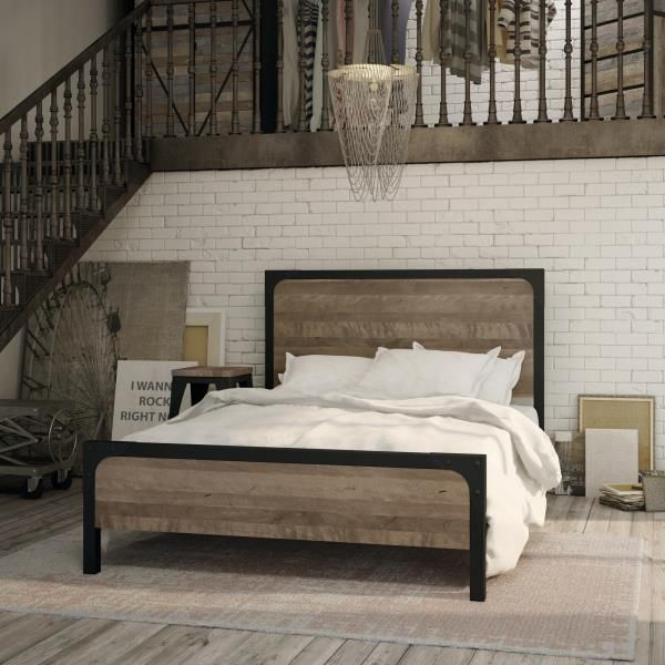 1000 ideas about king metal bed frame on pinterest bed frames reclaimed wood headboard and california king amisco newton regular footboard bed queen