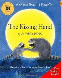 back to school, picture books, The Kissing Hand
