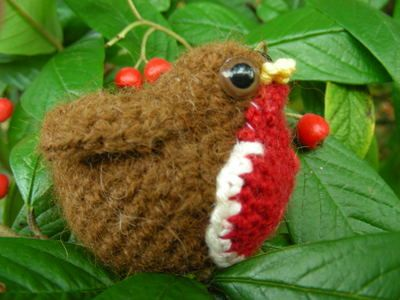 Crochet robin by Roman Sock, free pattern, thanks for sharing