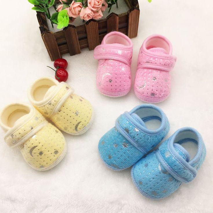 $1.14 (Buy here: https://alitems.com/g/1e8d114494ebda23ff8b16525dc3e8/?i=5&ulp=https%3A%2F%2Fwww.aliexpress.com%2Fitem%2FCute-Star-Print-Infants-Baby-First-Walkers-Boys-Girls-Hook-Loop-Anti-slip-Shoes-Cotton-Crib%2F32585064906.html ) Lovely Infants Boys Girls Shoes Cotton Crib Shoes Star Print Prewalker New Baby Shoes for just $1.14