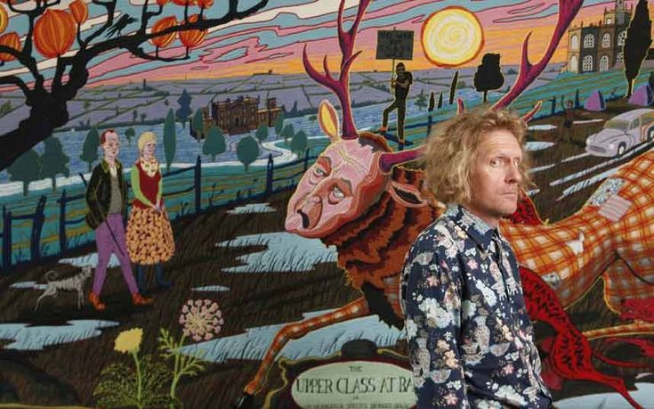 Your taste depends on your class, says Turner Prize-winning artist Grayson   Perry – and he has created six new tapestries to illustrate his point.