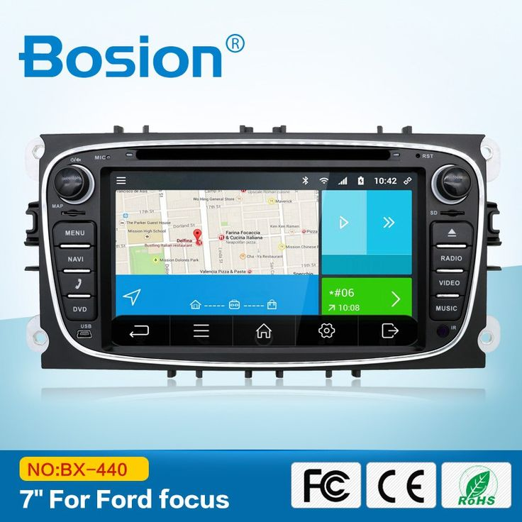Buy online US $155.80  Black/Siliver Two 2 Din 7 Inch Car DVD Player For FORD/Mondeo/S-MAX/Connect/FOCUS 2 2008-2011 With 3G GPS BT WIFI FM Free Map