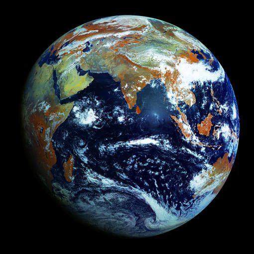 No hay nada como la tierra. Esta es la foto más nítida jamás tomada de la Tierra.