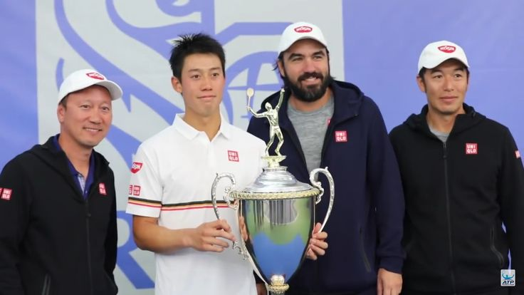 Kei won the first  in Dallas after his wrist injury and sine 2016 Memphis title in 2016 photo by ATP