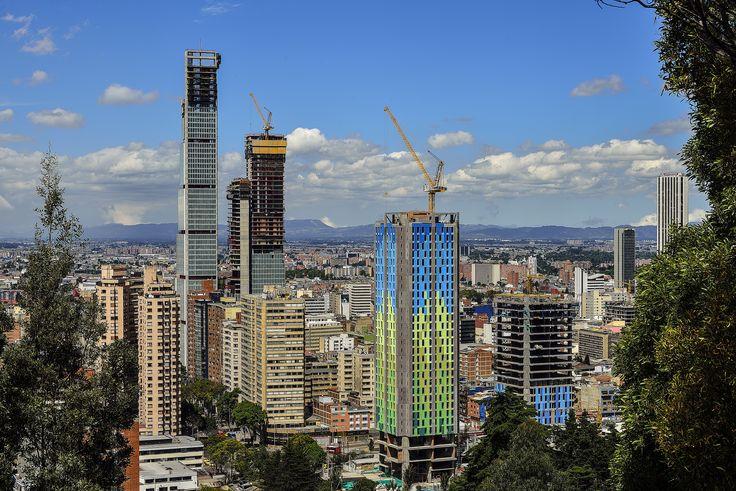 Bogota's new skyline - by Robert Contrer [6016 x 4016]