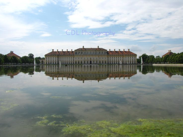 """""""Reflections""""                                                Schleissheim Palace, Germany"""