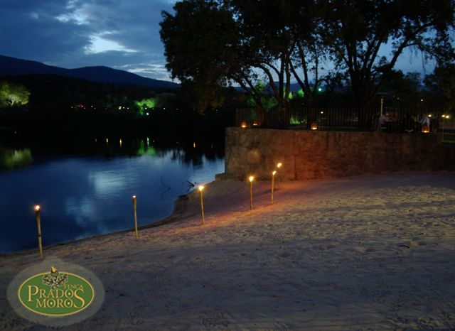 Vistas nocturnas, finca bodas Madrid, http://www.buscabodas.com