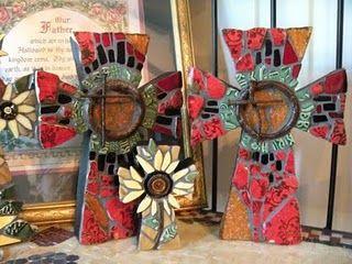 His House Mosaic Arts . . . beautiful mosaics, especially crosses