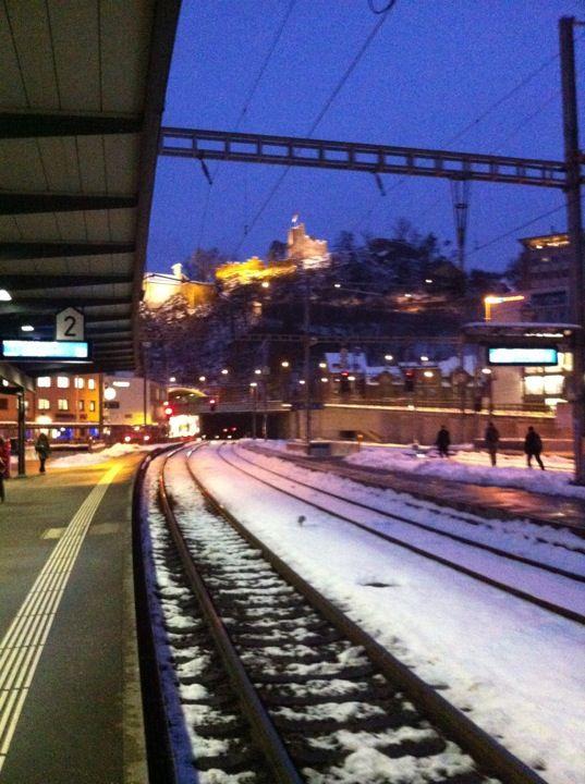 Bahnhof Baden in Baden AG