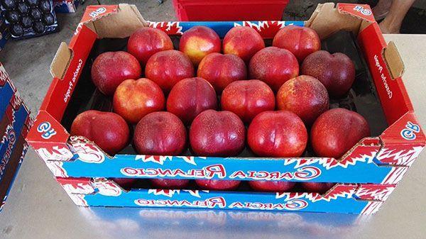 El valor nutricional de estas nectarinas es nulo.  ¿Por qué?