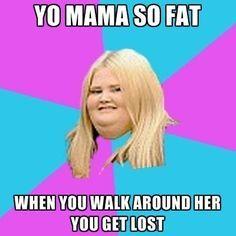 Yo Mama So Fat Jokes