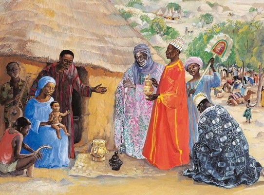 Sunday 4th january - The Epiphany of the Lord - Solemnity - Mt 2, 1-12 6