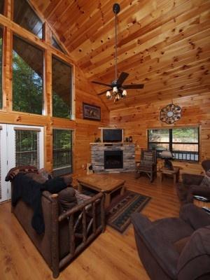 Cabin rentals in Gatlinburg Tennessee at http://www.encompassvacations.com