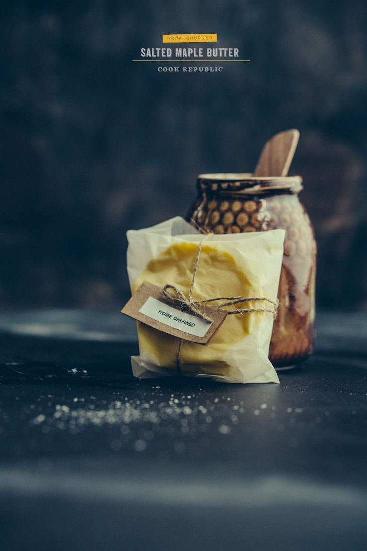 Home Churned Salted Maple Butter