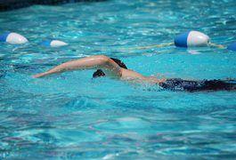 Beginner's swimming routine