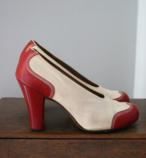 Avec les Joséphine, Germain Crèvecoeur veut casser le moule de la chaussure des années 30 en s'éloignant du talon bas et épais. http://amzn.to/1wE8Gx9