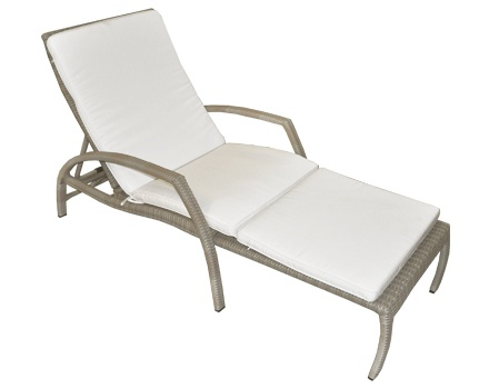 The Sam Adjustable Outdoor Sun Lounger Is An All Weather Wicker That Easily  Converts From Its Reclining Chair Position Into Its Sun Lounger Position.