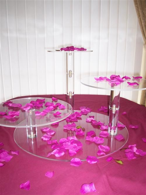 Square Wedding Cake Stands For Hire