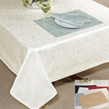 Chelsea Paisley Table Linens from Waterford Linens