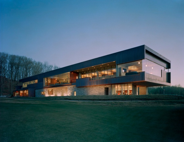 Blessings Golf Clubhouse in Arkansas / by Marlon Blackwell Architect