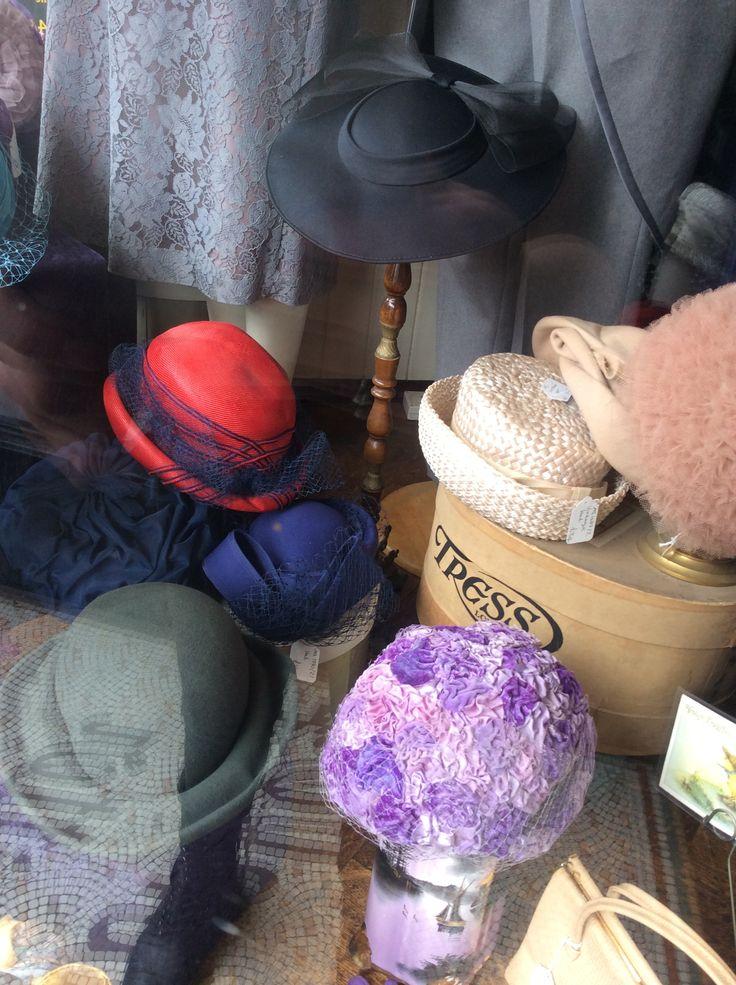 Ladies Hats.  www.fieldstaffantiques.com
