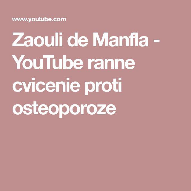 Zaouli de Manfla - YouTube  ranne cvicenie proti osteoporoze