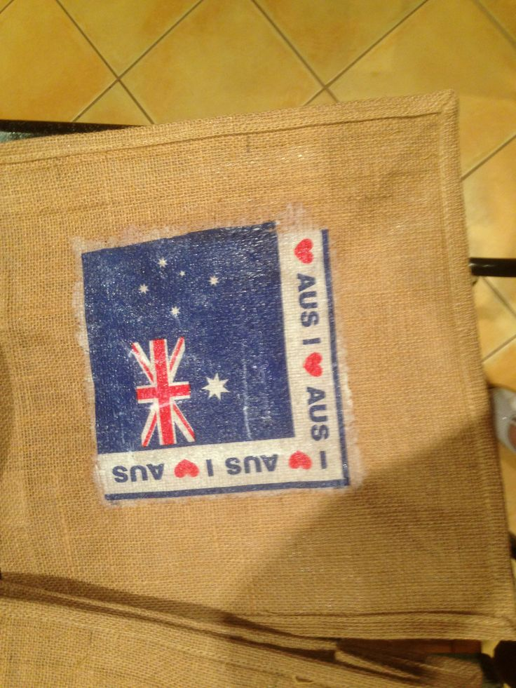 Hessian shopping bags - Australia