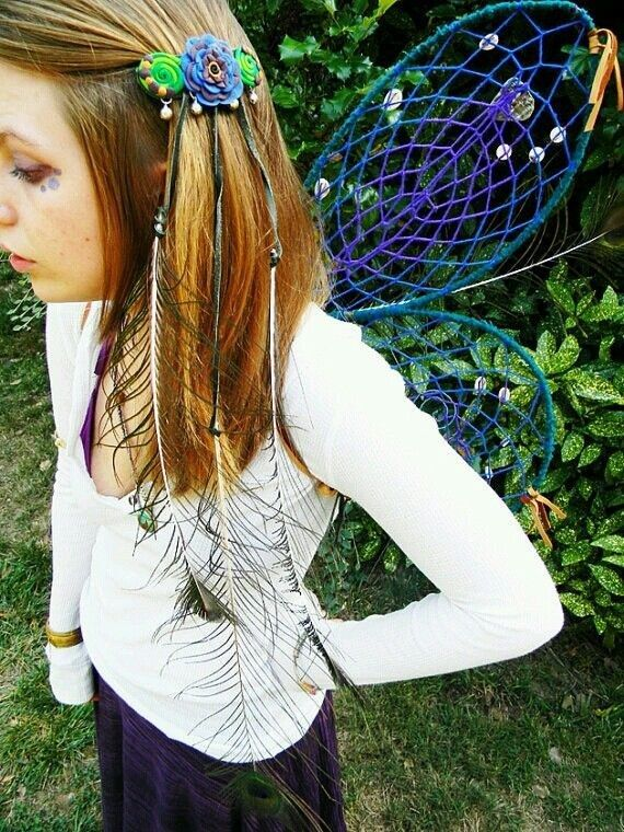 These Dream Catcher Wings   24 DIY Fairy, Dragon, And Butterfly Wings For Kids