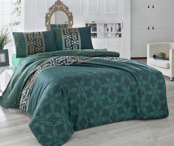 Lenjeria de pat Alisa Deluxe este confectionata din bumbac satinat. Avand un imprimeu deosebit aduce un strop de eleganta dormitorului tau. http://goo.gl/1bIYWT