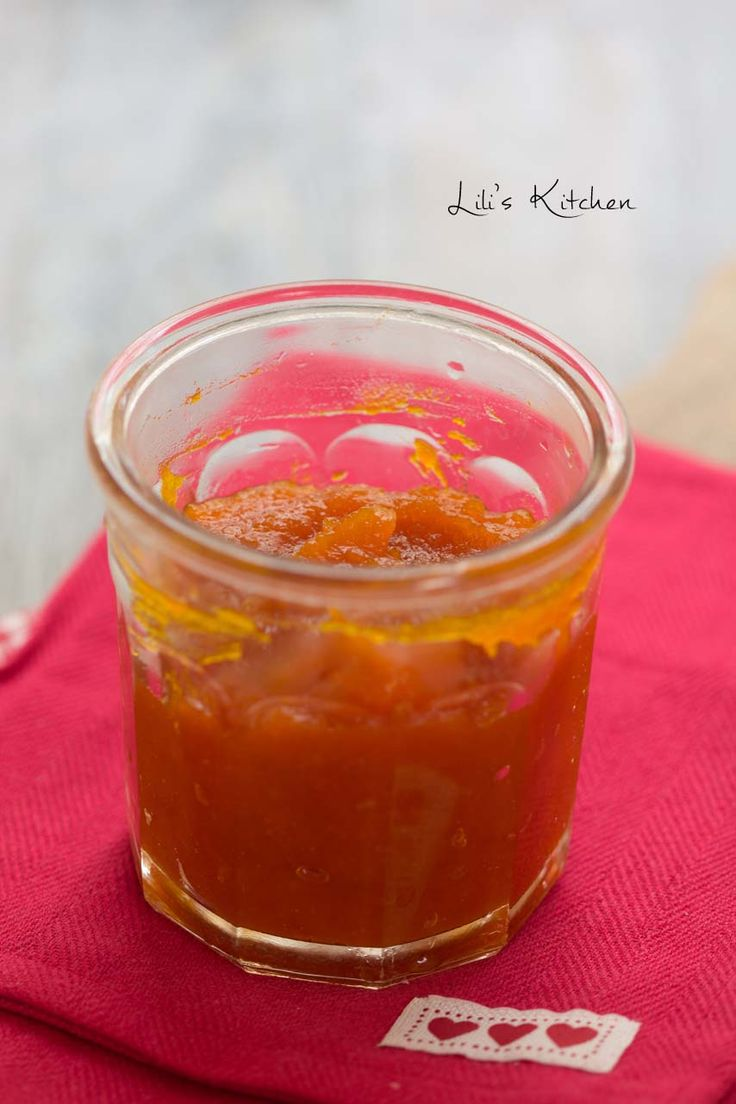 Confiture de potimarron au citron ou à l'orange
