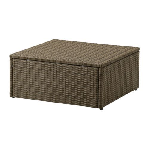 ARHOLMA Table/stool IKEA By combining different seating sections you can create a sofa in a shape and size that perfectly suits your deck or garden.