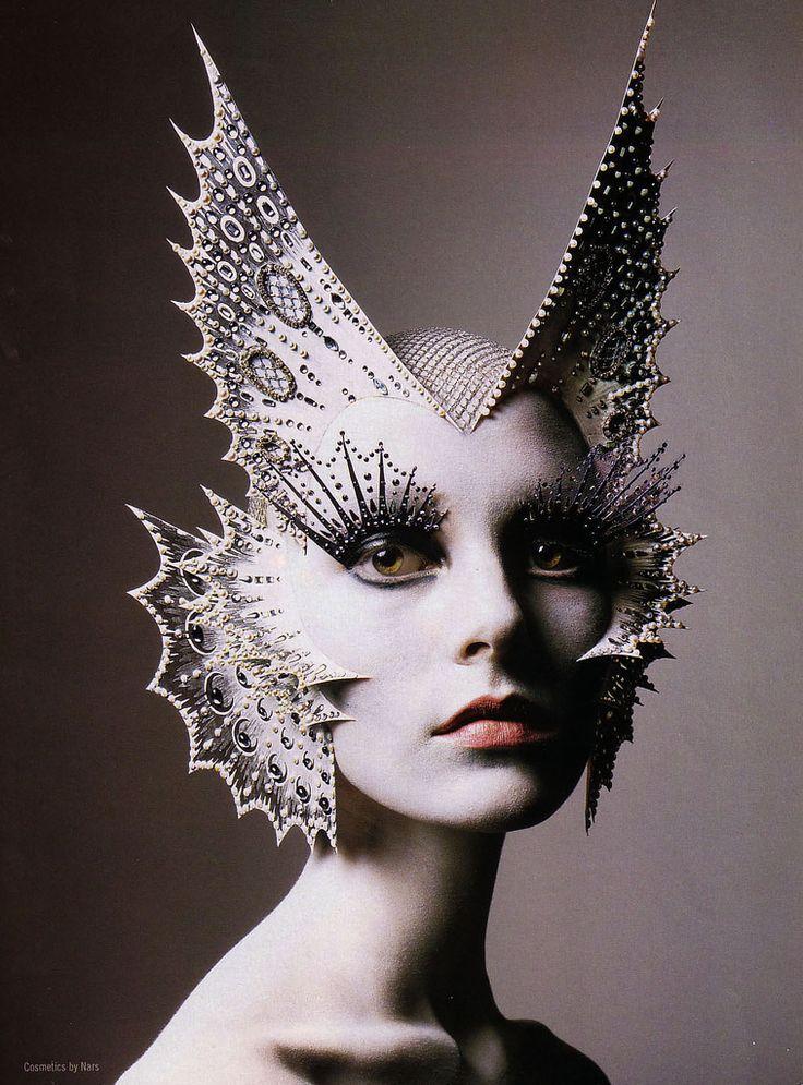 Richard Burbridge photographer- makeup by legendary makeup artist Kabuki