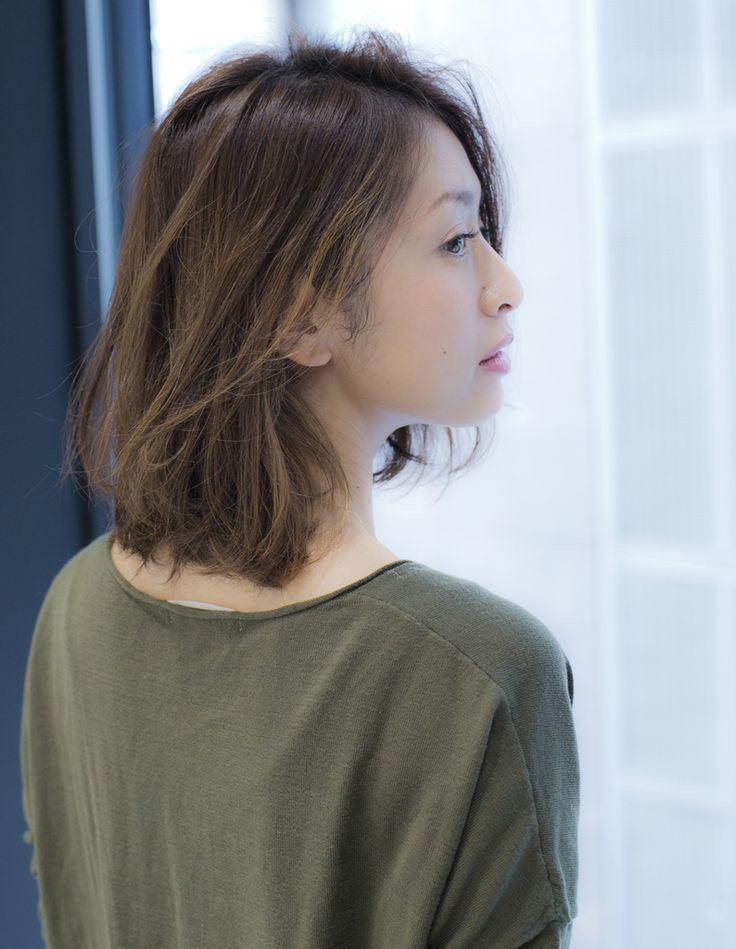 ハネたっていいじゃない!朝のお手入れ簡単ミディアム( MT-131)   ヘアカタログ・髪型・ヘアスタイル AFLOAT(アフロート)表参道・銀座・名古屋の美容室・美容院