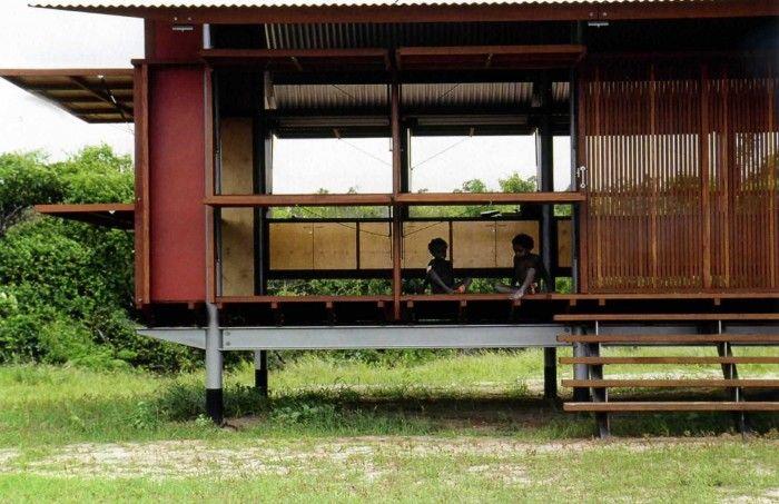 croquis post - simple metal building