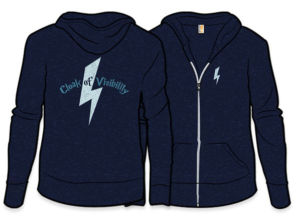 Cloak of Visibility Lightweight Hoodie