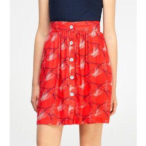 Men's Dress Shirt -- Skirt Refashion