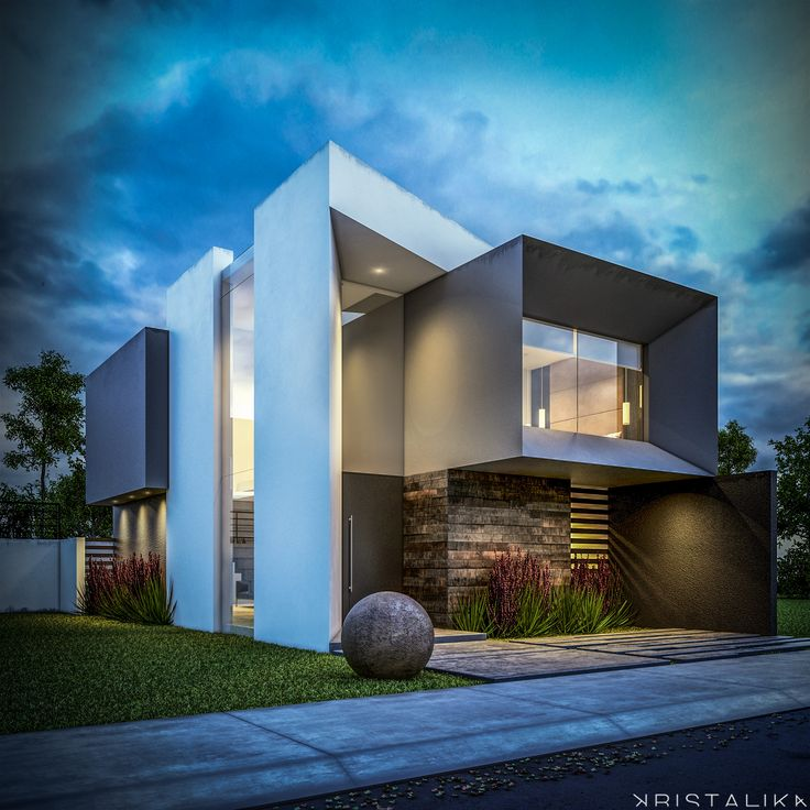 1000 ideas about rendered houses on pinterest cement for Arquitectura minimalista casas